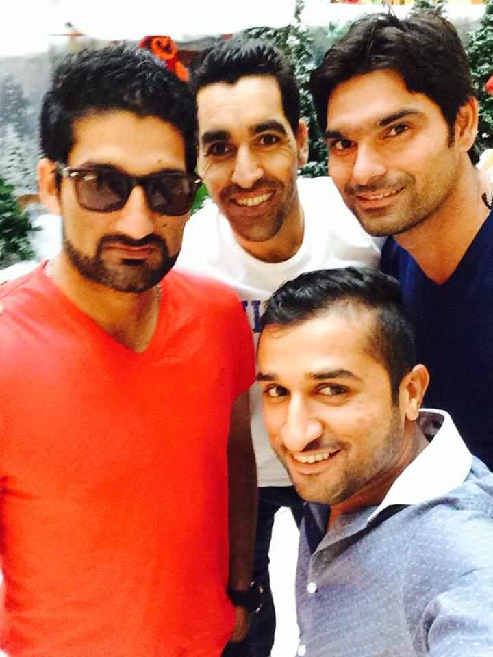 Cricketer Selfie Time