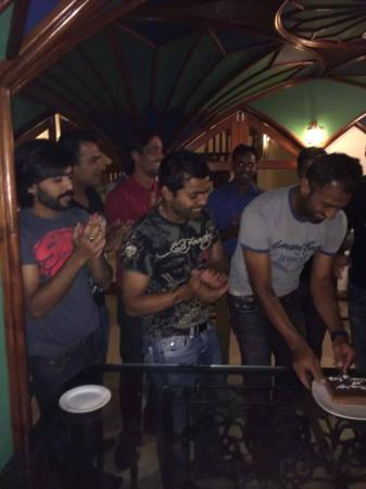 Cricketer Wahab Riaz Birthday With Celebration