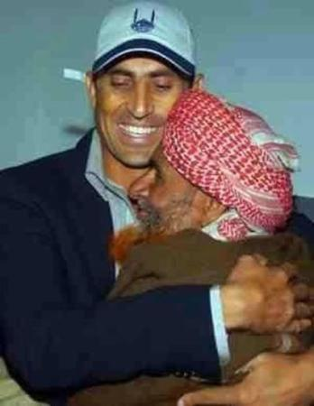 Cricketer Younis Khan With His Father
