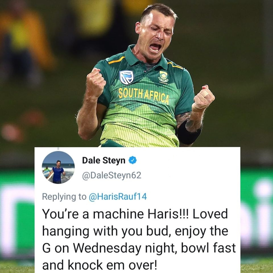 Dale Steyn Praises Haris Rauf