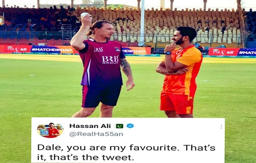 Dale Steyn, You Are My Favourite - Hassan Ali