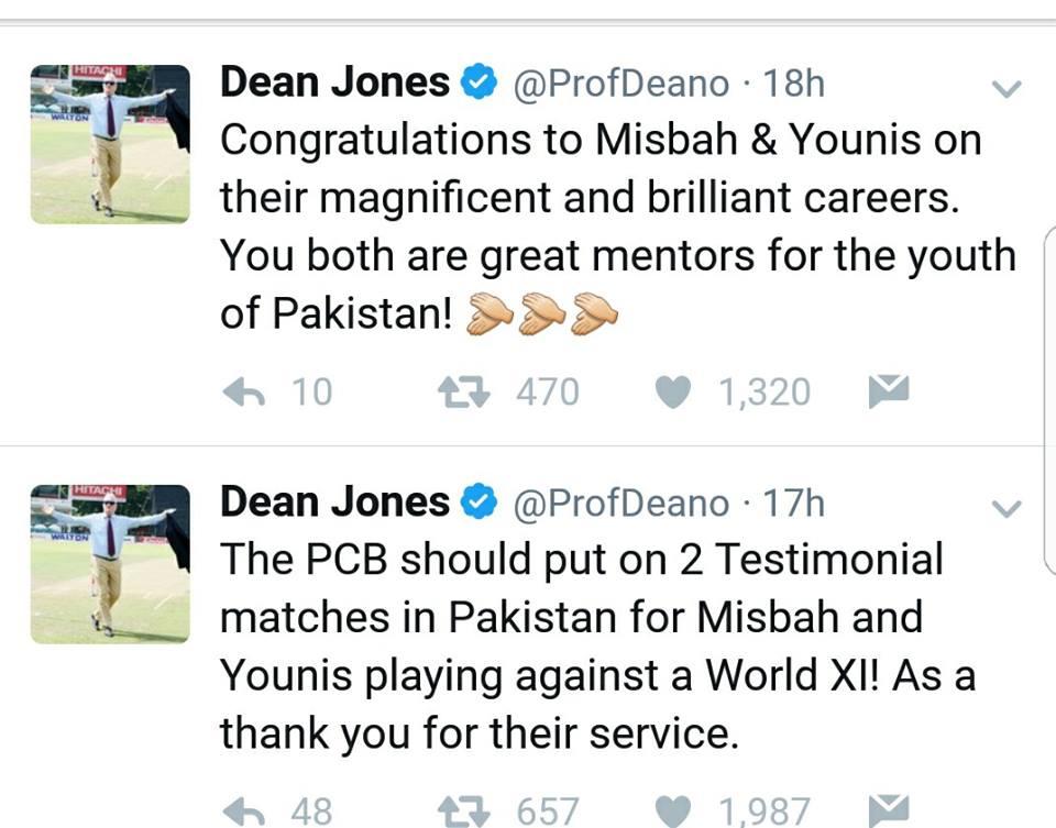 Dean Jones Tweets