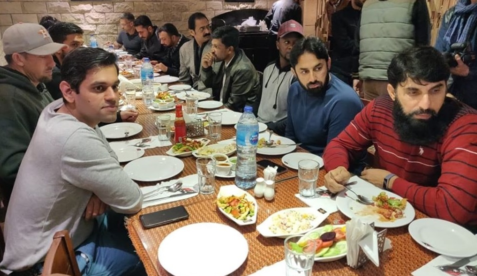 Dinner Arrange For The Islamabad United Players