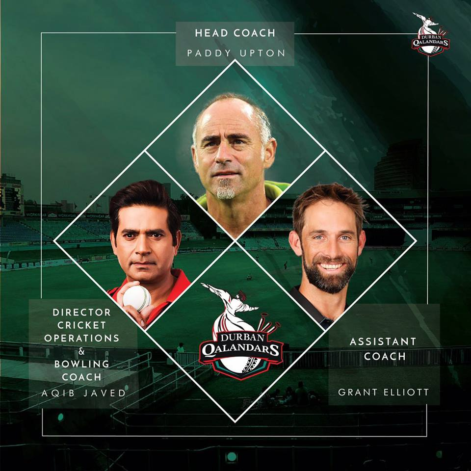 Durban Qalandars Announced Their Coaching Staff For T20GL