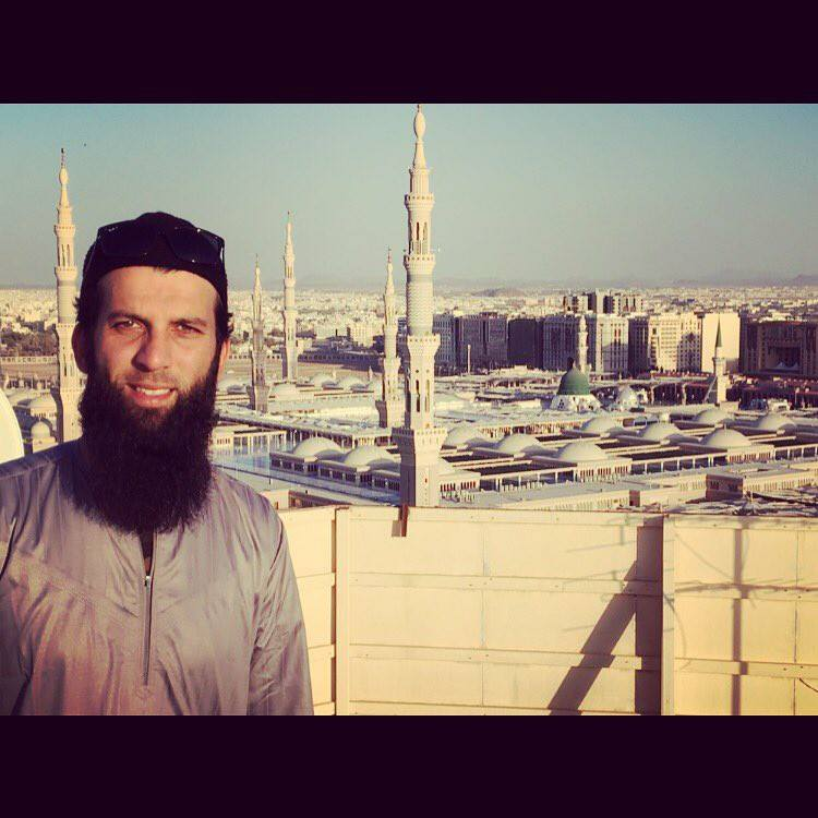 England All Rounder Moeen Ali