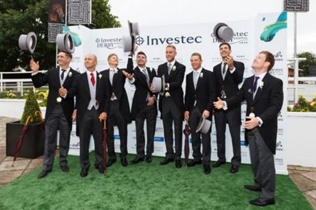 England Cricketers Dress For The Investec Derby