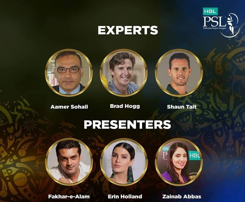 Experts & Presenters Panel For PSL 2019