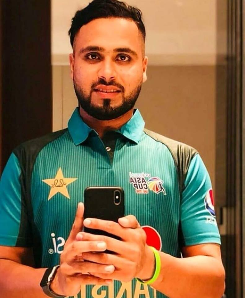 Faheem Ashraf In Asia Cup Kit 2018