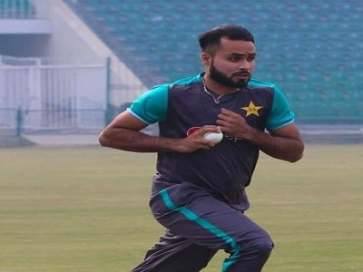 Faheem Ashraf's Corona Test Has Came In Negative And He's Gonna Travel With Team To England