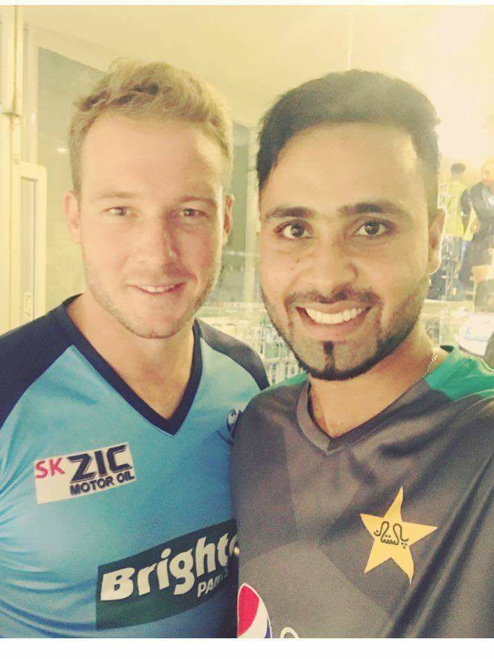 Fahim Ashraf With David Miller