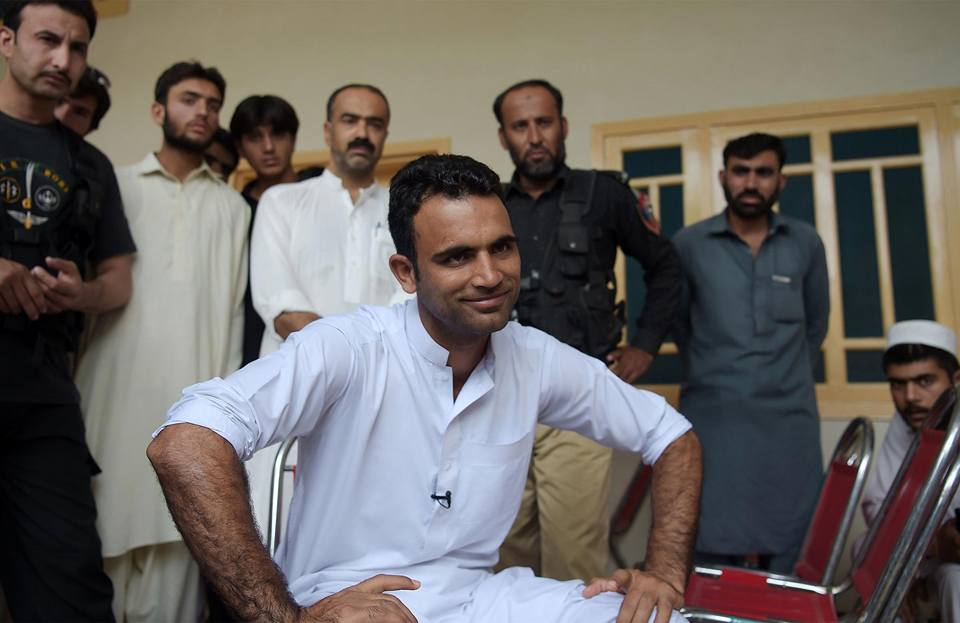 Fakhar Zaman At His Place Of Residence