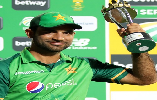 Fakhar Zaman Gets Man Of The Series Award