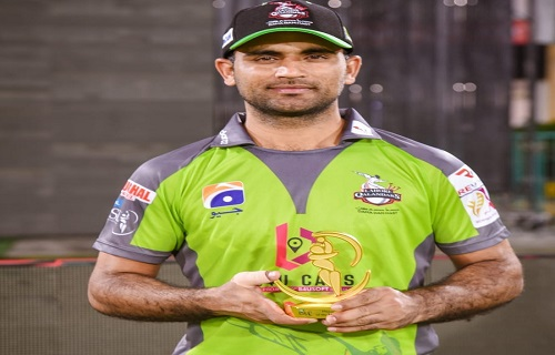 Fakhar Zaman Gets Player Of The Match Award