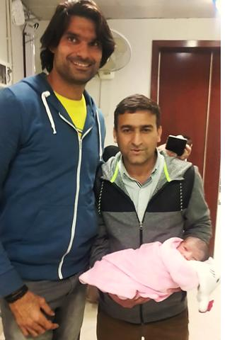Fast Bowler Muhammed Irfan Blessed With a Son