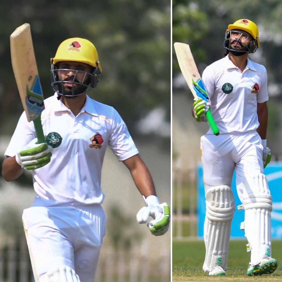Fawad Alam Completes 12,000 Runs And 33rd First Class Hundred..