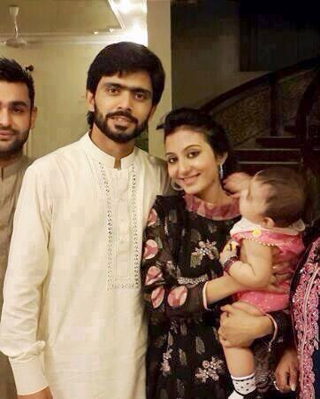 Fawad Alam Wife and Daughter