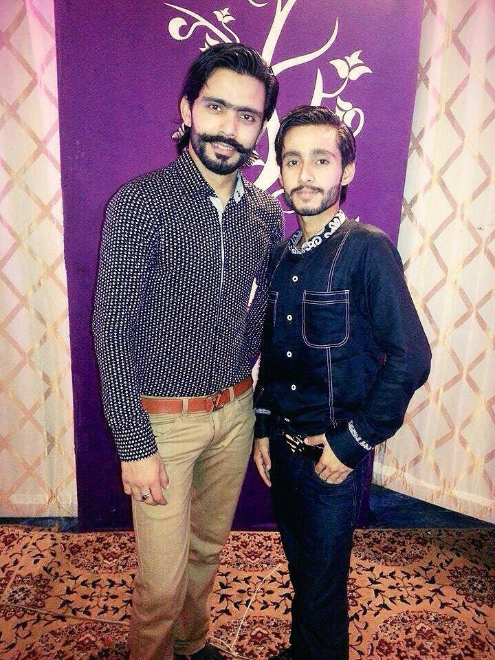 Fawad Alam With Brother Jawad