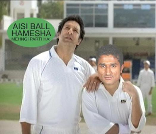Funny Picture Of Bilawal Bhatti After T20
