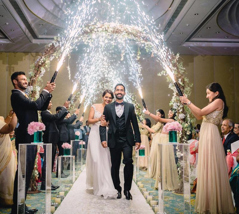 Glimpses Of Dinesh Karthik And Dipika Pallikal