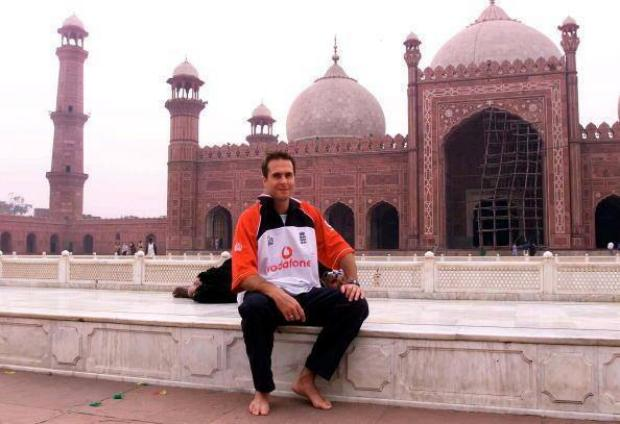 Good Old Days - Michael Vaughan Former Cricket & Captain in Badshahi Mosque