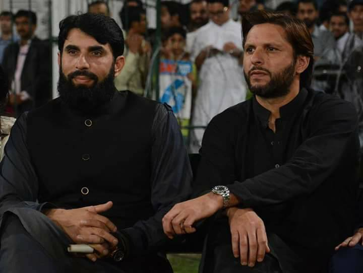 Great Tribute To Misbah-ul-Haq & Shahid Afridi