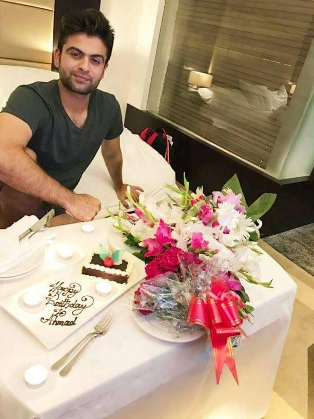 Happy Birthday Ahmad Shahzad