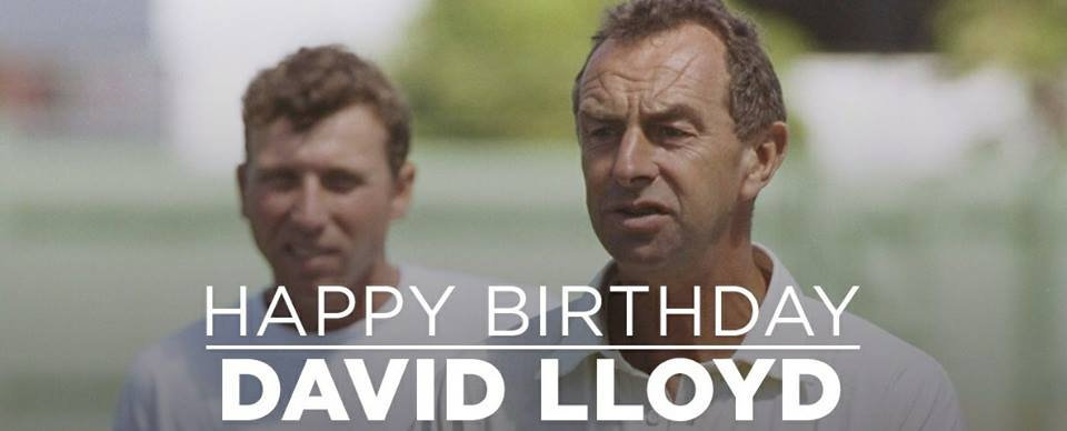 Happy Birthday David Lloyd