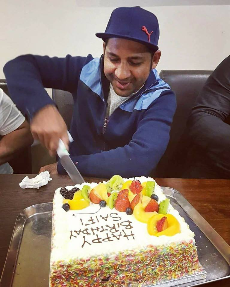 Happy Birthday Sarfraz Ahmed