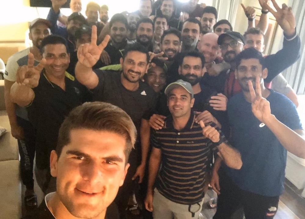 Happy Selfie Of Lahore Qalandars Squad