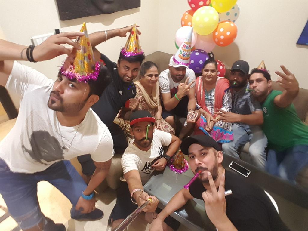 Harbhajan Singh Celebrates His Birthday