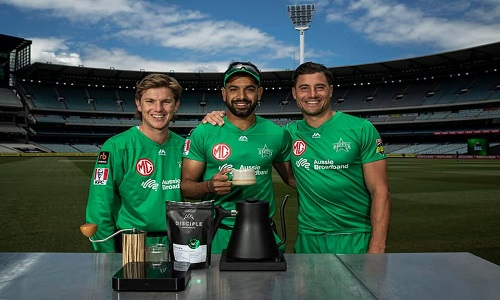 Haris Rauf Visits Love Cafe Of Marcus Stoinis And Adam Zampa At MCG