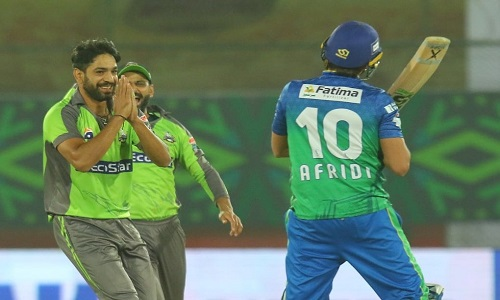 Haris Rauf shows Respect For Shahid Afridi After Cleaning Him Up