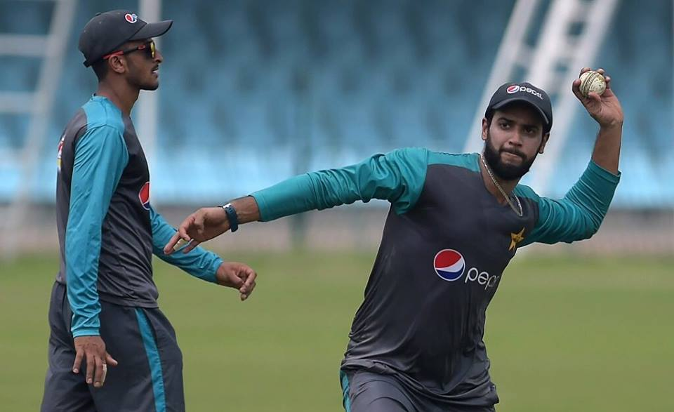 Hasan Ali & Imad Wasim During Practice Session
