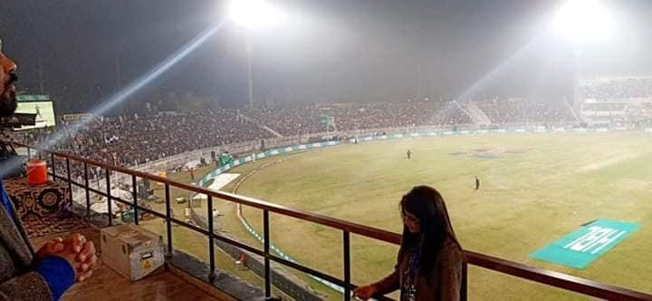 Housefull In Rawalpindi Cricket Stadium Yesterday
