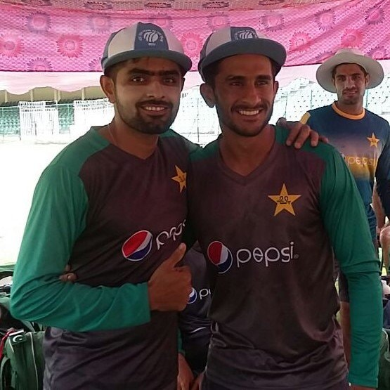 ICC ODI Team Of The Year Caps Presented To Babar Azam & Hasan Ali