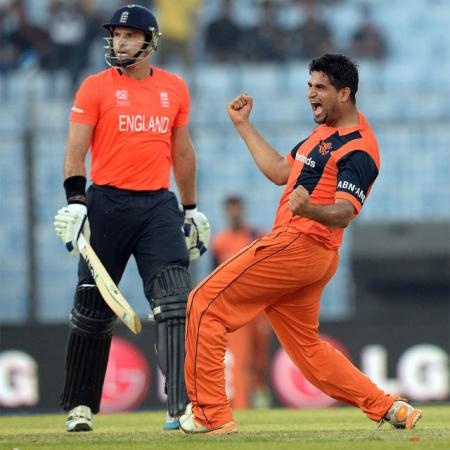 ICC World T20 Netherlands Embarrass England By 45 Runs On Monday