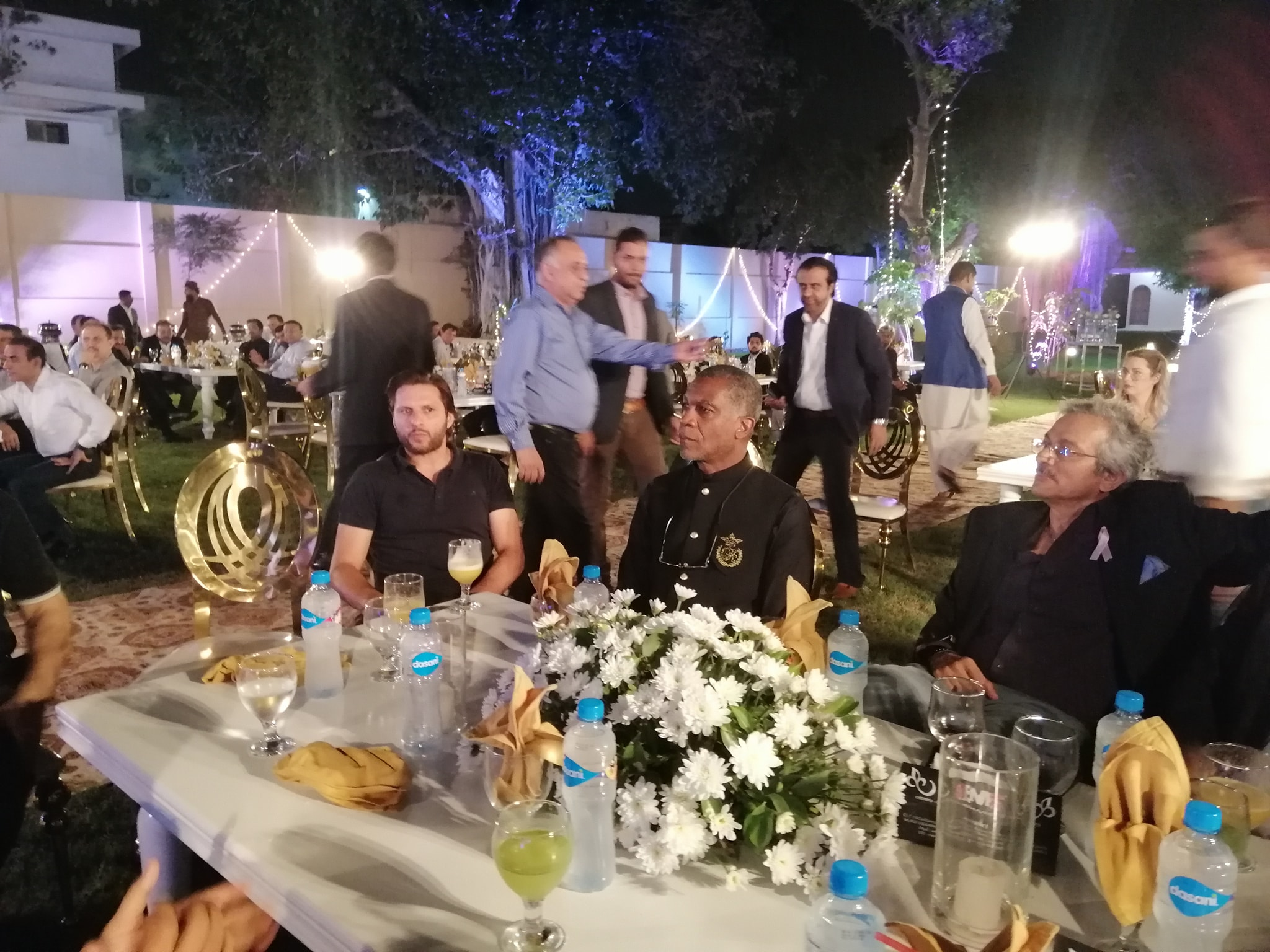 IG Sindh Hosted Dinner In Honour Of Michael Holding