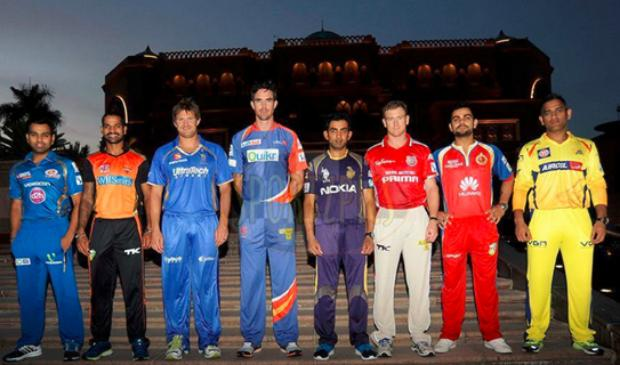 India League Team Captains 2014