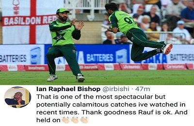 Ian Bishop Praises Haris Rauf To His Wonderful Catch
