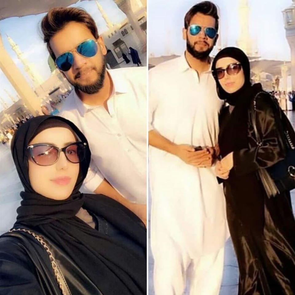 Imad Wasim Reaches Saudia Arab To Perform Umrah With His Wife
