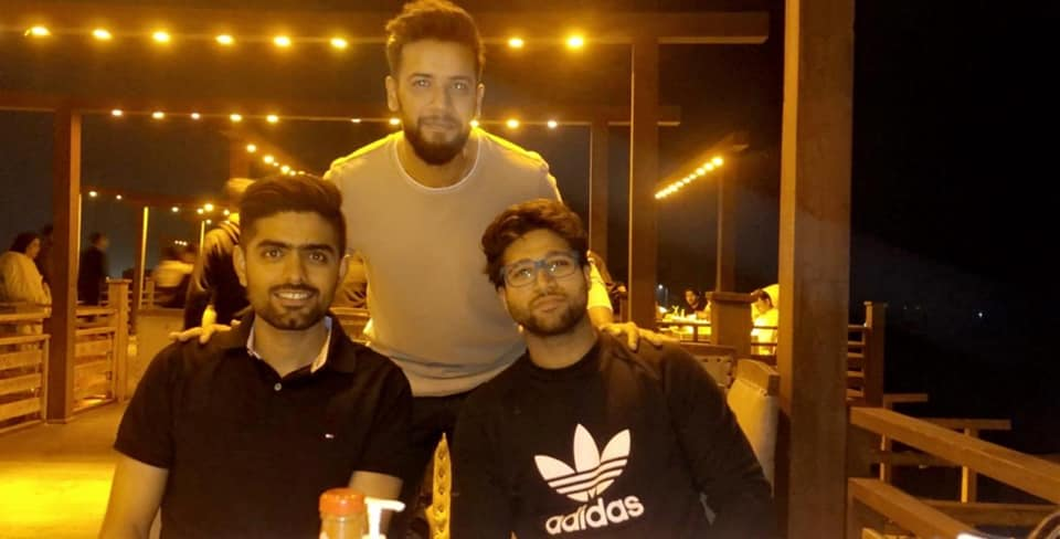 Imad Wasim Shares Some Clicks With Babar Azam And Imam Ul Haq