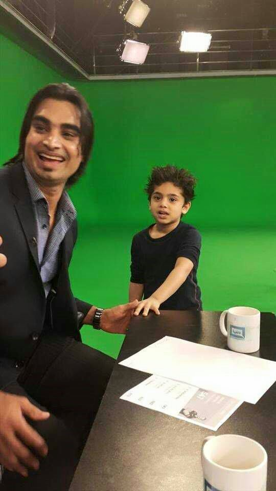 Imran Nazir With Son Amaan