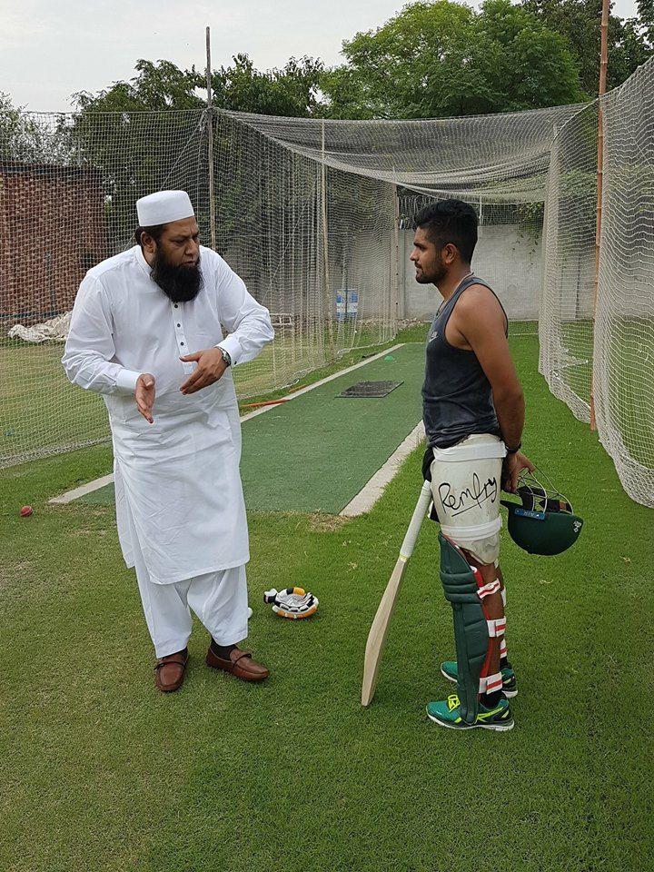Inzamam Ul Haq Gives The Tips To Babar Azam