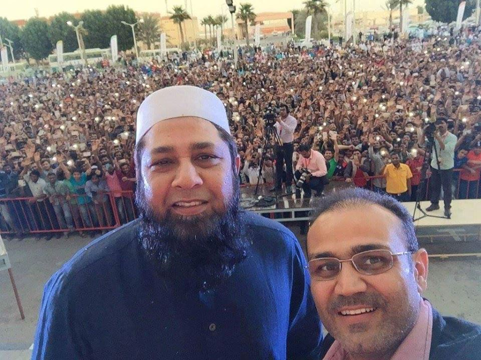 Inzi bhai and Sehwag