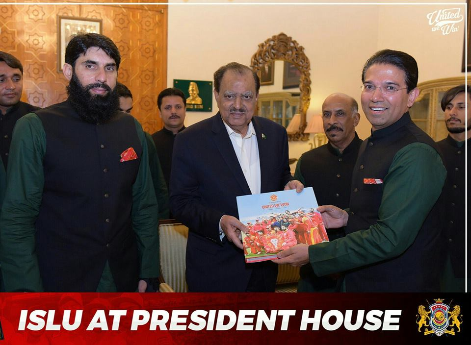 Islamabad United At President House