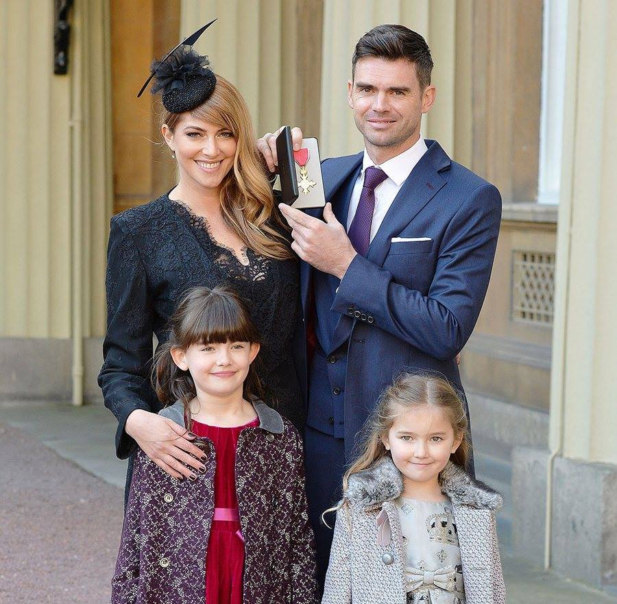 James Anderson Awarded OBE By Prince of Wales