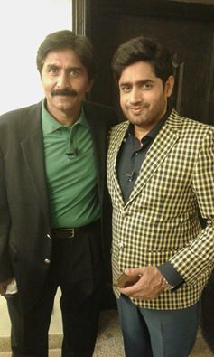Javed Miadad With Abrar Ul Haq
