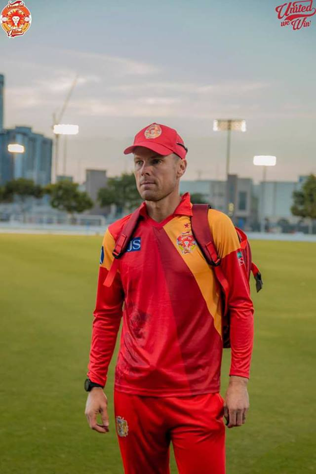 Johan Botha Assistant Coach Of Islamabad United