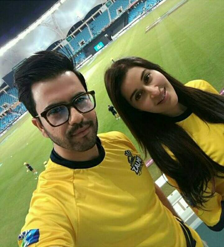 Junaid Khan and Shaista Lodhi