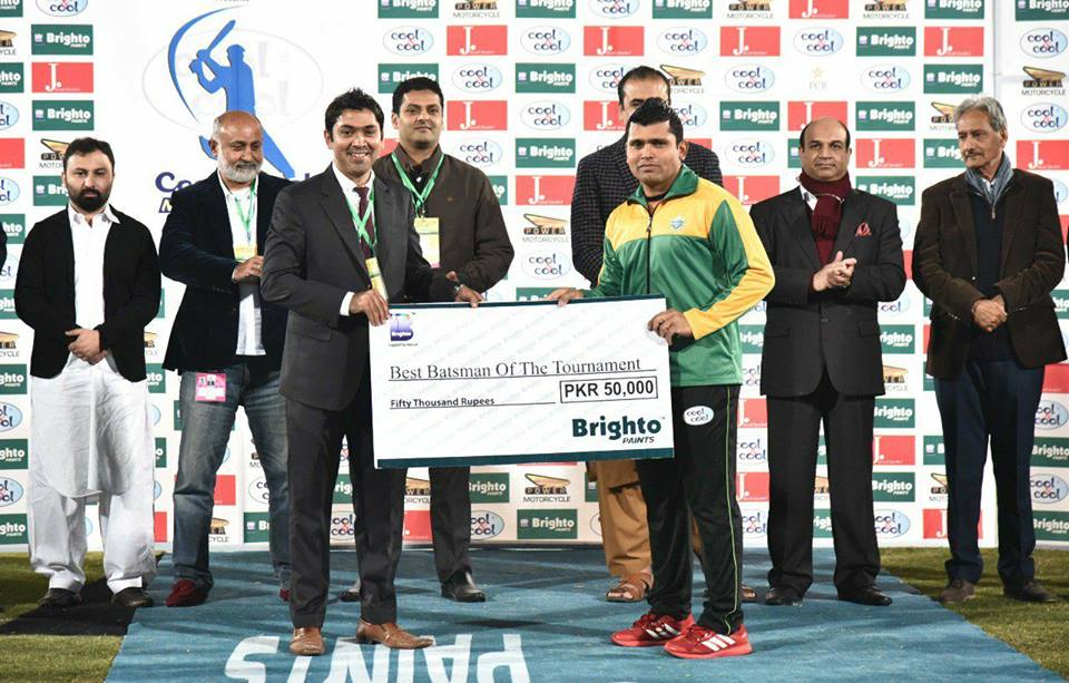 Kamran Akmal Awarded With Best Batsman Of The Tournament In National T20